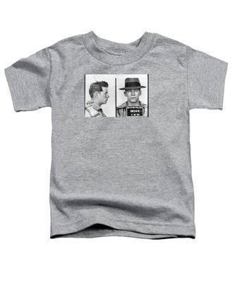 James Whitey Bulger Mug Shot 1953 Horizontal Toddler T-Shirt