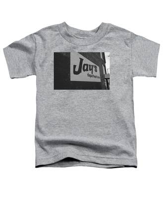 Jay's Department Store In Bw Toddler T-Shirt