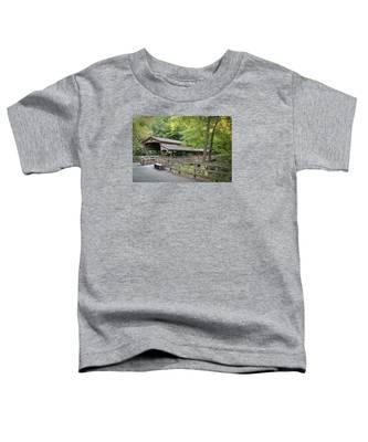 Lanterman's Mill Covered Bridge Toddler T-Shirt