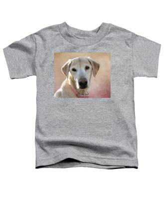 Lucy In Pink Toddler T-Shirt