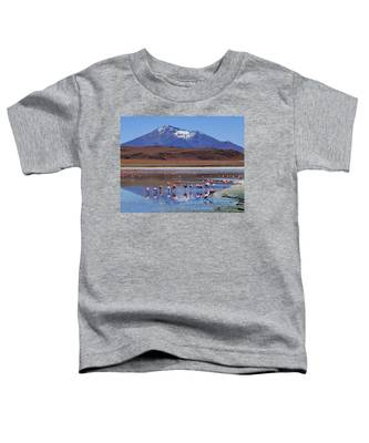 Toddler T-Shirt featuring the photograph Mirage by Skip Hunt