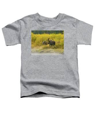 Moose Couple Toddler T-Shirt