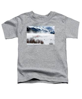 Mountain Landing Toddler T-Shirt
