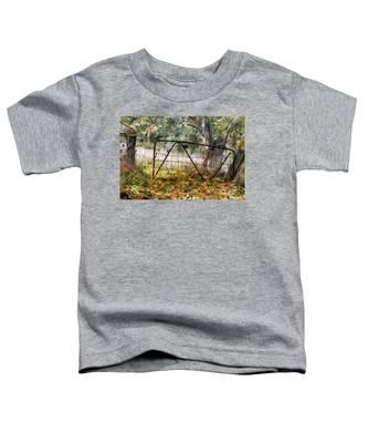 Old Farm Gate Toddler T-Shirt