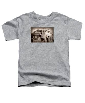 Old Santa Fe Stagecoach Toddler T-Shirt