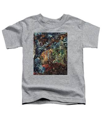 Opening Of The Fifth Seal After El Greco Toddler T-Shirt
