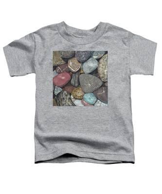 Pacific Nw Beach Rocks Toddler T-Shirt