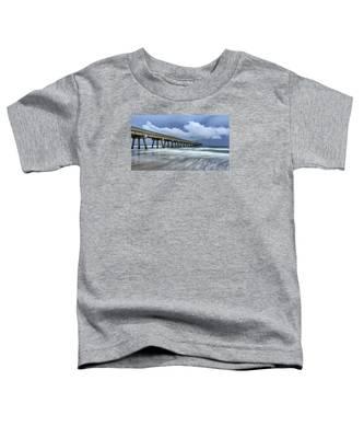 Pier Time Lapse Toddler T-Shirt
