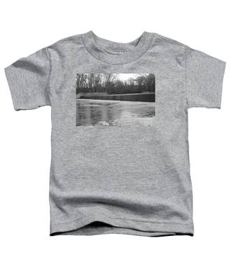 Pompton Spillway In January Toddler T-Shirt