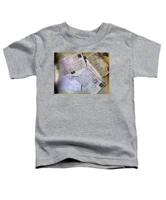 Postcards And Proposals Toddler T-Shirt