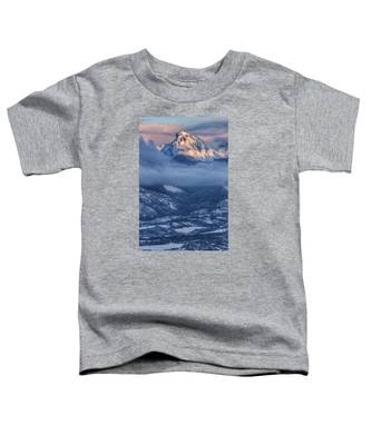 Precipice Smiling Toddler T-Shirt