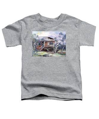 Queenslander Style House, Cloncurry. Toddler T-Shirt