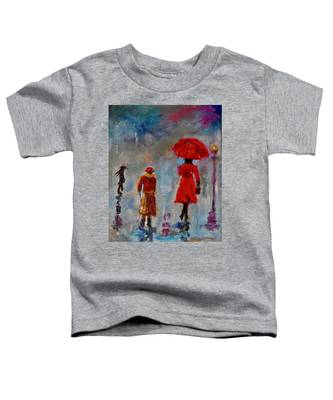 Rainy Spring Day Toddler T-Shirt