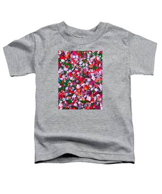 Red And Green Leaves Toddler T-Shirt