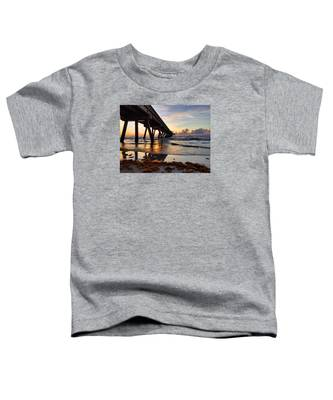 Reflections On The Water Toddler T-Shirt