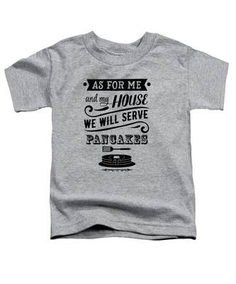 Serve Pancakes Toddler T-Shirt