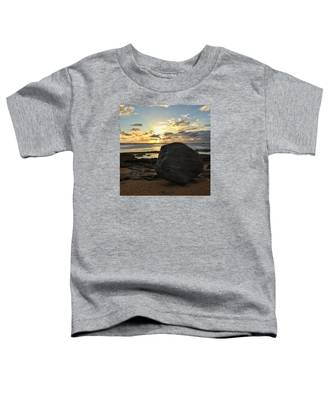 Shining Over The Boulder  Toddler T-Shirt