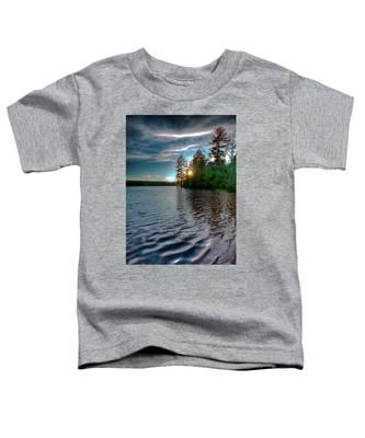 Star Sunset On Nicks Lake Toddler T-Shirt