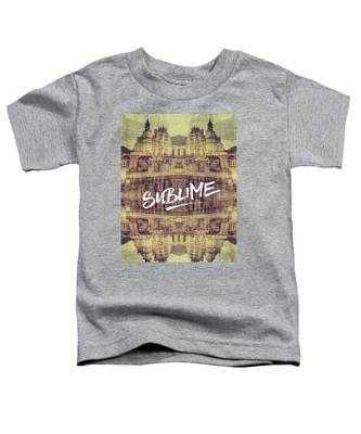 Sublime Fontainebleau Chateau France French Architecture Toddler T-Shirt