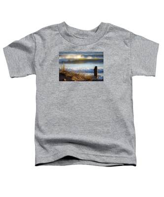 Sun Kissed Waves Toddler T-Shirt