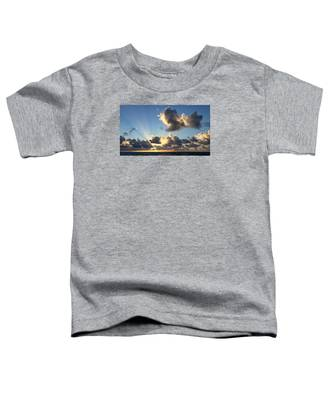 Sun Rays And The Cloud Toddler T-Shirt