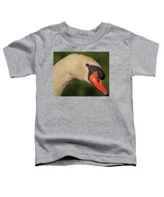Swan Headshot Toddler T-Shirt