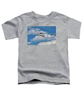 Thunderbirds Inverted Toddler T-Shirt