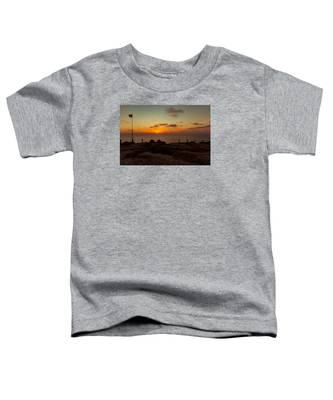 Torrey Pine Glider Port Sunset Toddler T-Shirt