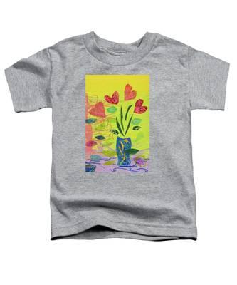 Vase Full Of Love Toddler T-Shirt