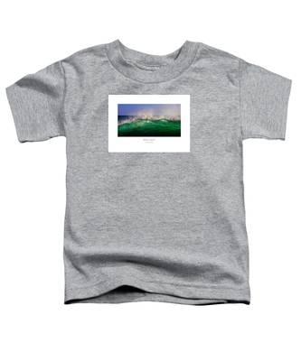 Wave Crest Toddler T-Shirt