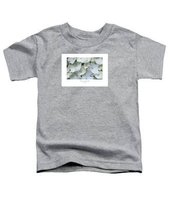 White Blossom Toddler T-Shirt