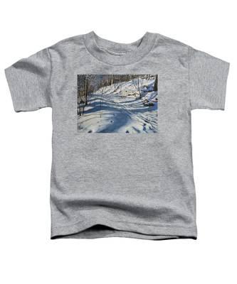 Winter's Shadows Toddler T-Shirt