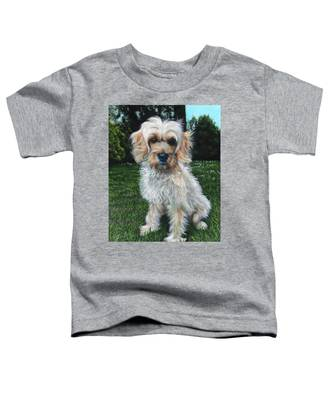 Portrait Of Toffee Toddler T-Shirt