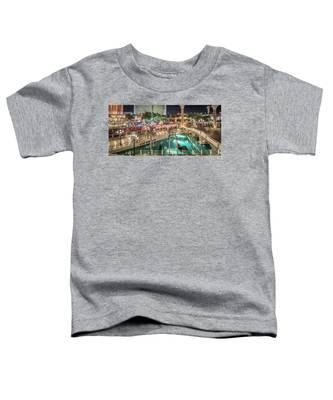 View Of The Venetian Hotel Resort And Casino Toddler T-Shirt