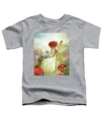 Butterfly Painter Toddler T-Shirt