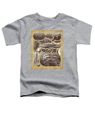 Farmer's Market - Sepia Toddler T-Shirt
