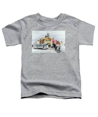 Flinders Street Station, Melbourne Toddler T-Shirt