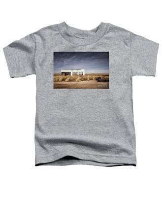 Glenrio Abandoned Gas Station  Toddler T-Shirt