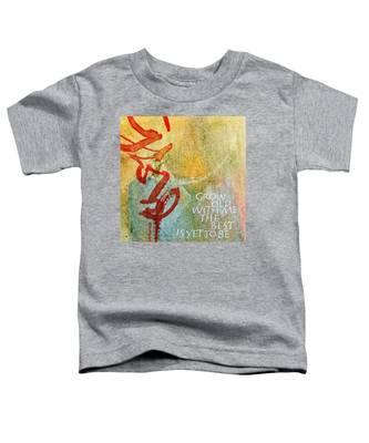 Grow Old With Me Toddler T-Shirt