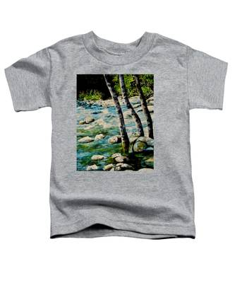 Gushing Waters Toddler T-Shirt
