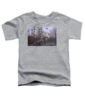 Monday Morning Mallards Toddler T-Shirt
