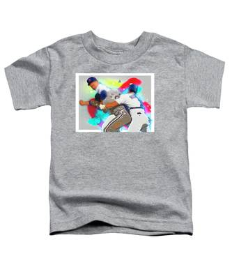 Nolan Ryan, Robin Ventura Brawl Toddler T-Shirt