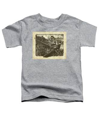 Pheasants Toddler T-Shirt