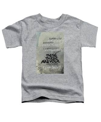 Three Treasures Toddler T-Shirt
