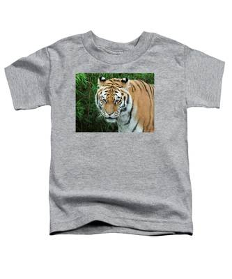 tigris tigris - Supporting World Wide Fund For Nature Toddler T-Shirt