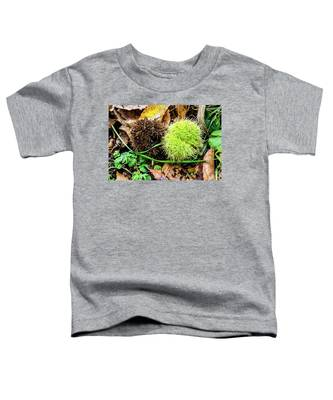 Yin And Yang In Autumnal Colours Toddler T-Shirt