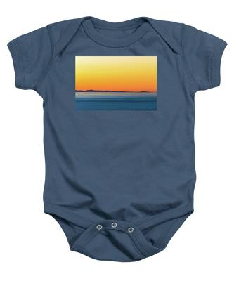 Golden Sunset Series I Baby Onesie