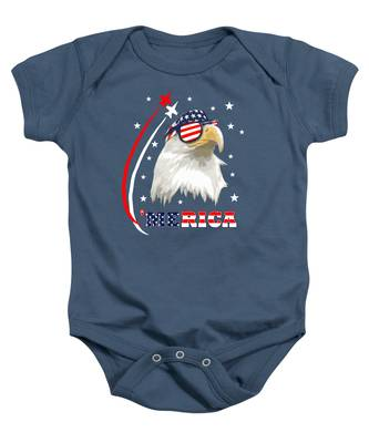 Independence Day Baby Onesies