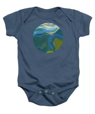 By The Sea Baby Onesie