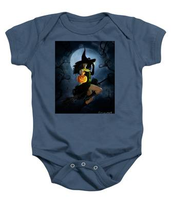 Fly By Night Halloween Baby Onesie